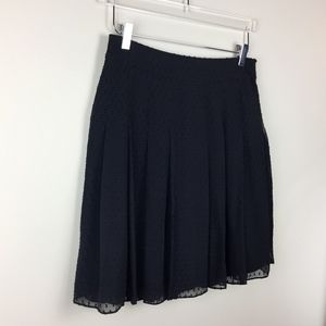 Jacob Black Silk Skirt